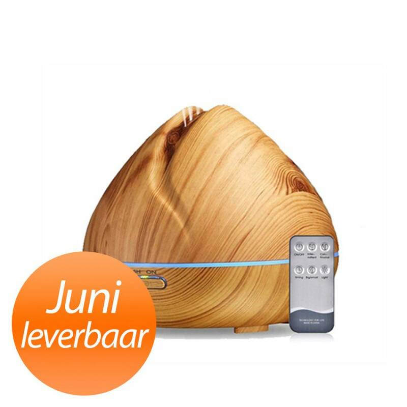 Aroma Diffuser - Zen Pro - Light Wood -Juni leverbaar