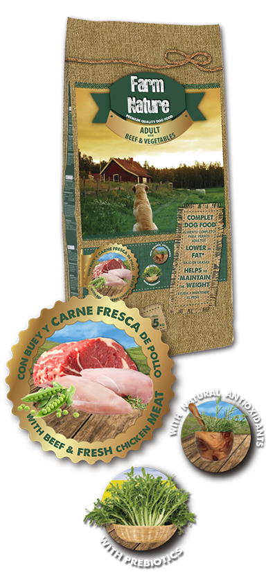FARM NATURE BEEF / VEGETABLES 12,5 KG