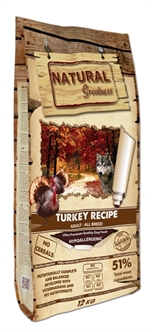 NATURAL GREATNESS TURKEY RECIPE 12 KG