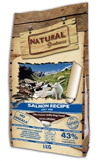 NATURAL GREATNESS SALMON SENSITIVE MINI 6 KG