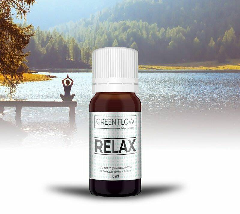 Relax - Green Flow - 100% Etherische Olie - 10 ml