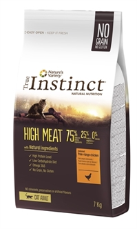 TRUE INSTINCT HIGH MEAT FREE RANGE CHICKEN 7 KG