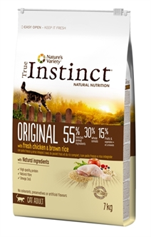 TRUE INSTINCT ORIGINAL CHICKEN 7 KG