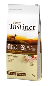 TRUE INSTINCT ORIGINAL MEDIUM ADULT CHICKEN 12 KG