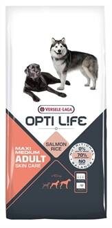 OPTI LIFE ADULT SKIN CARE MEDIUM/MAXI 12,5 KG