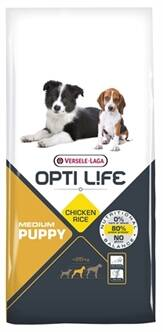 OPTI LIFE PUPPY MEDIUM 12,5 KG