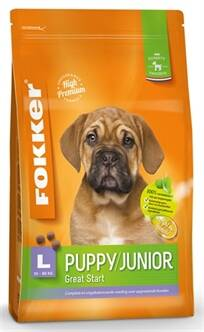 FOKKER PUPPY/JUNIOR LARGE 30-80 KG 13 KG