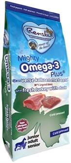 RENSKE MIGHTY OMEGA PLUS KALKOEN / EEND GEPERST 15 KG