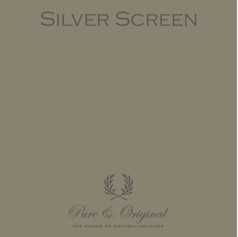 Silver Screen - Afwasbare verf - Licetto