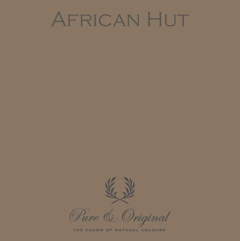 African Hut - Afwasbare verf - Licetto