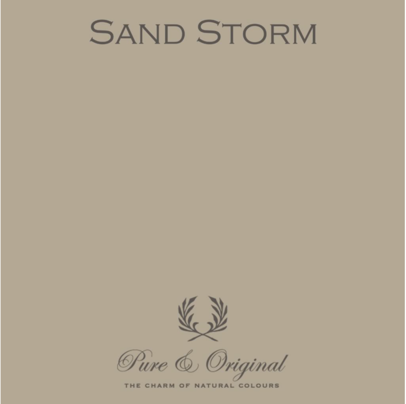 Sand Storm - Afwasbare verf - Licetto