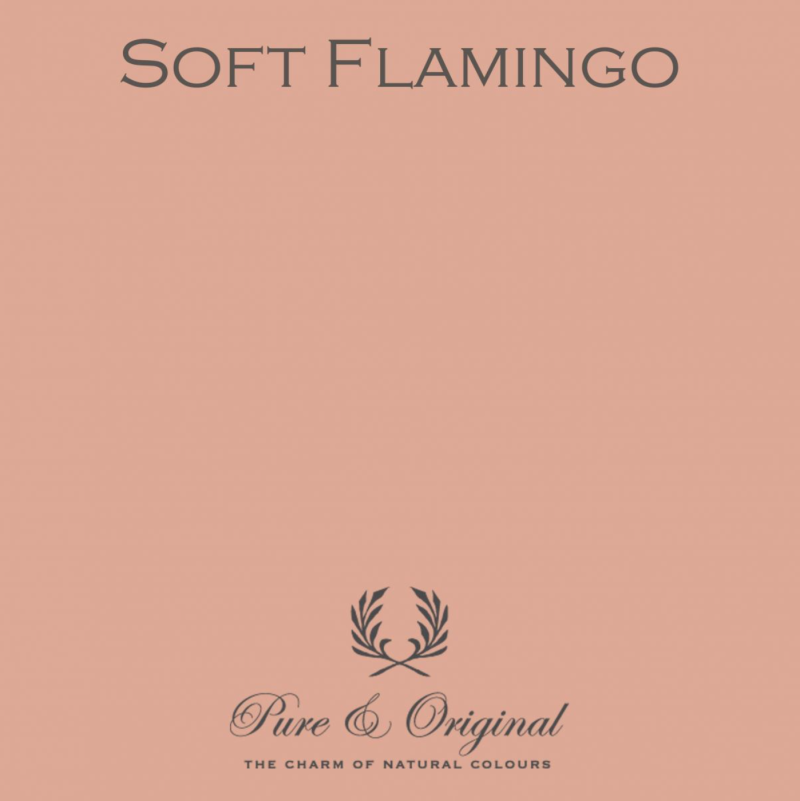 Soft Flamingo - Kalkverf - Fresco