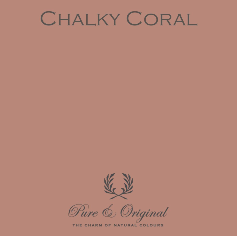 Chalky Coral - Kalkverf - Fresco