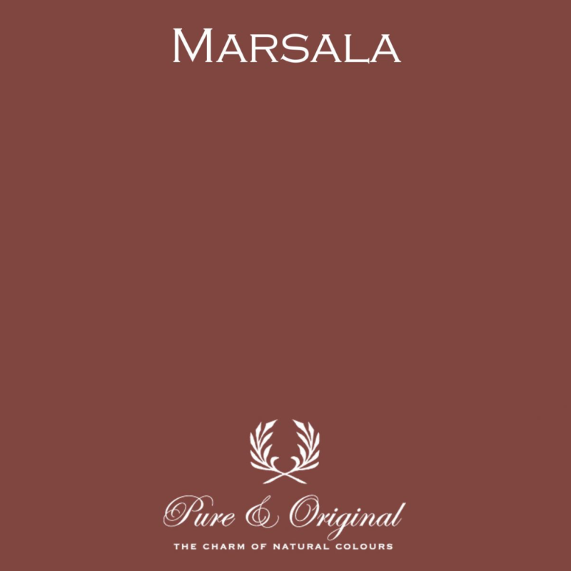 Marsala - Afwasbare verf - Licetto