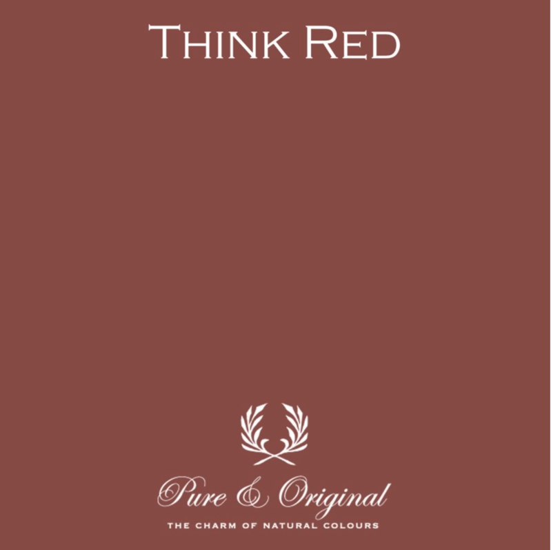 Think Red - Afwasbare verf - Licetto