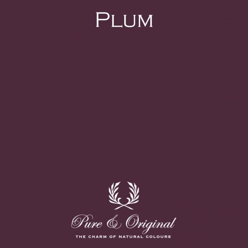 Plum - Afwasbare verf - Licetto