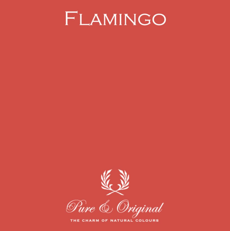 Flamingo - Afwasbare verf - Licetto