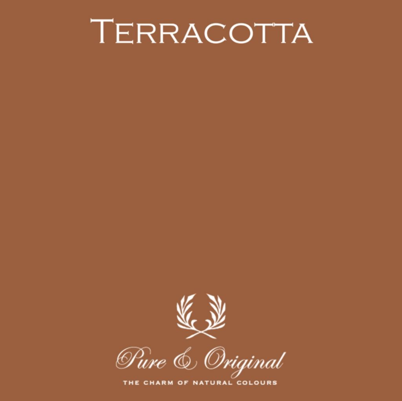 Terracotta - Afwasbare verf - Licetto