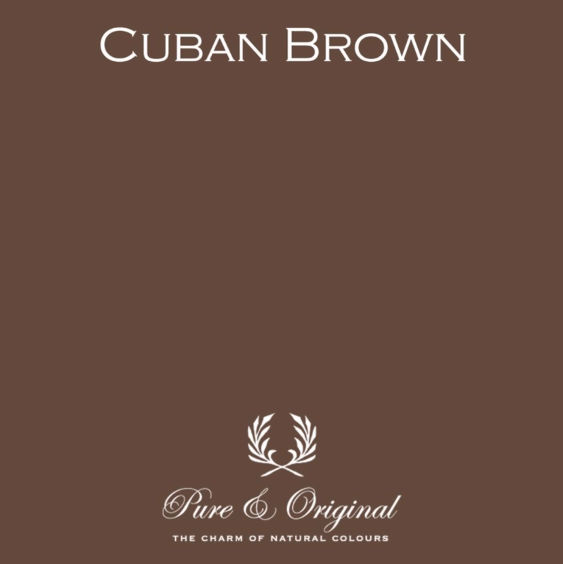 Cuban Brown - Kalkverf - Fresco