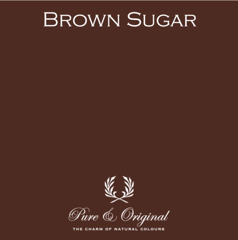 Brown Sugar - Afwasbare verf - Licetto
