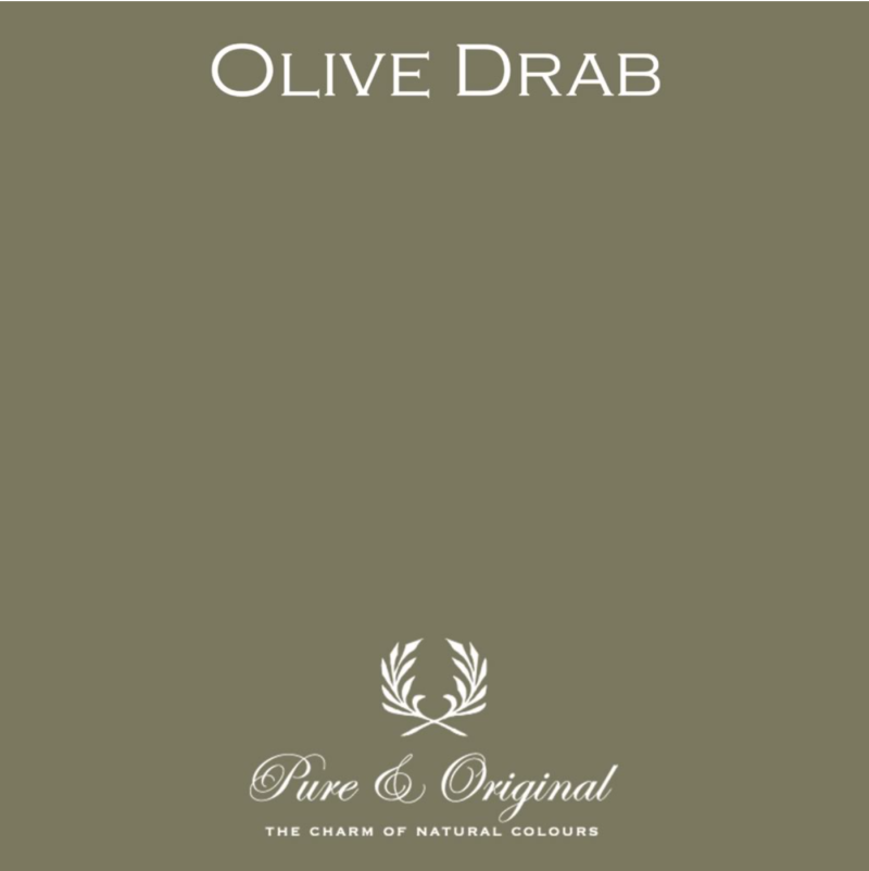 Olive Drab - Afwasbare verf - Licetto