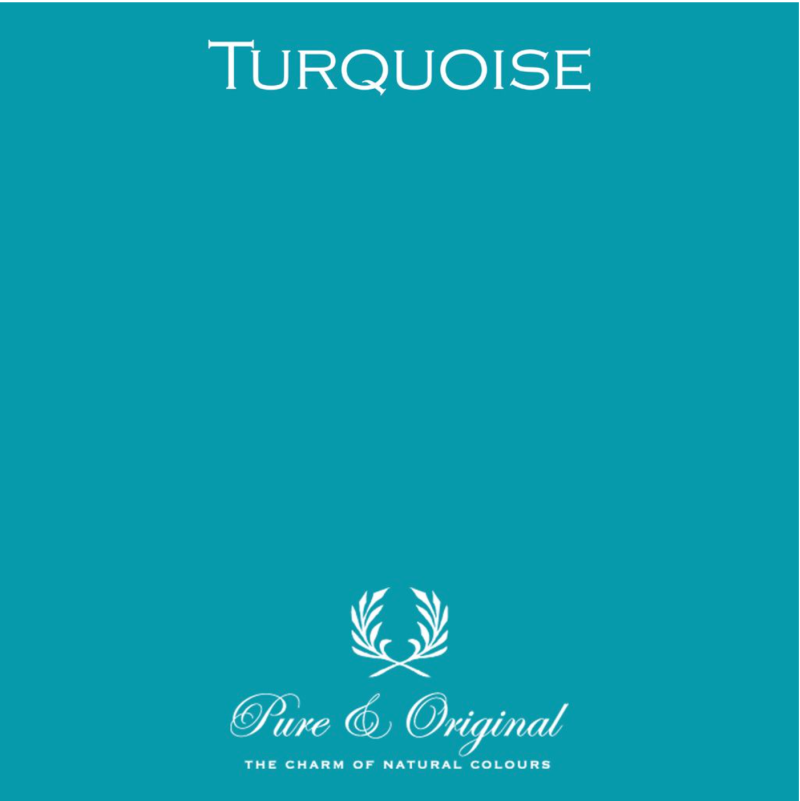 Turquoise - Afwasbare verf - Licetto
