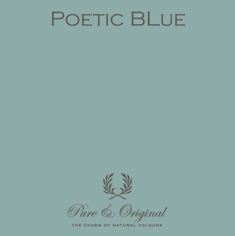 Poetic Blue - Kalkverf - Fresco