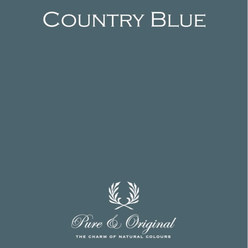 Country Blue - Kalkverf - Fresco
