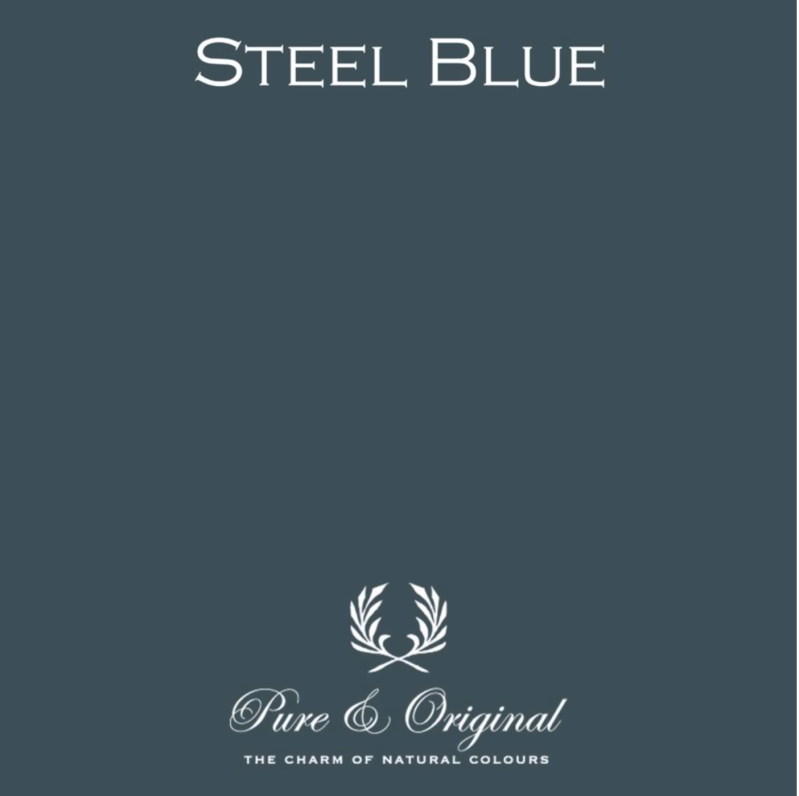 Steel Blue - Kalkverf - Fresco
