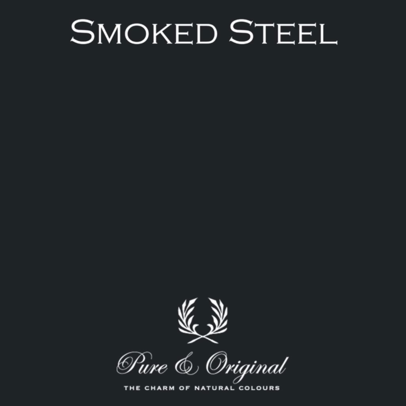 Smokes Steel - Kalkverf - Fresco