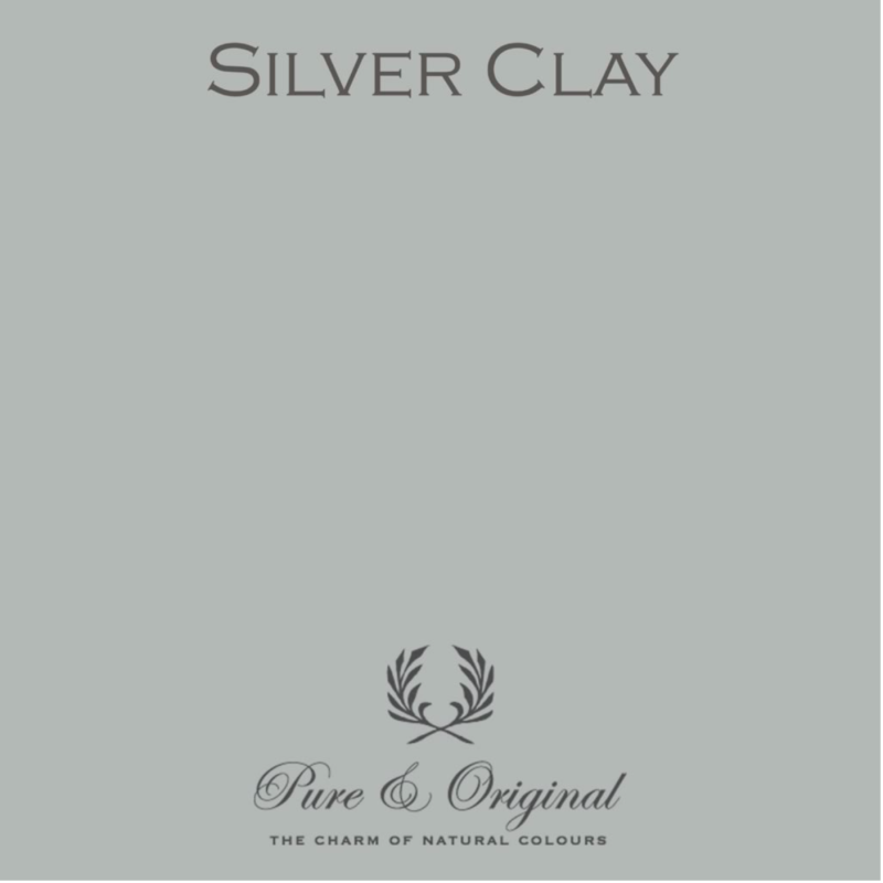 Silver Clay - Afwasbare verf - Licetto