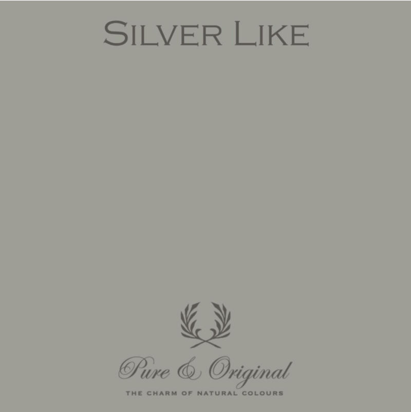 Silver Like - Afwasbare verf - Licetto
