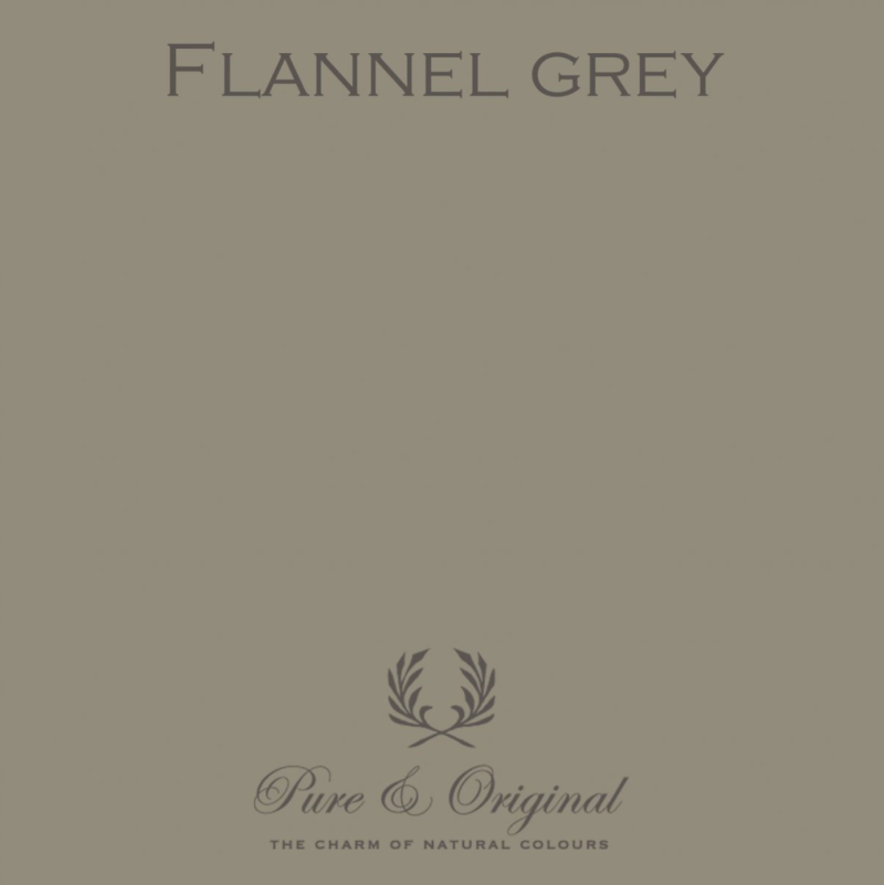 Flannel Grey - Afwasbare verf - Licetto