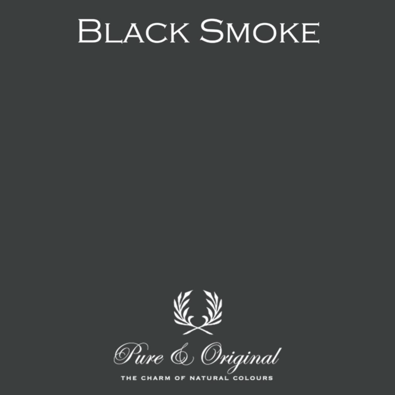 Black Smoke - Afwasbare verf - Licetto