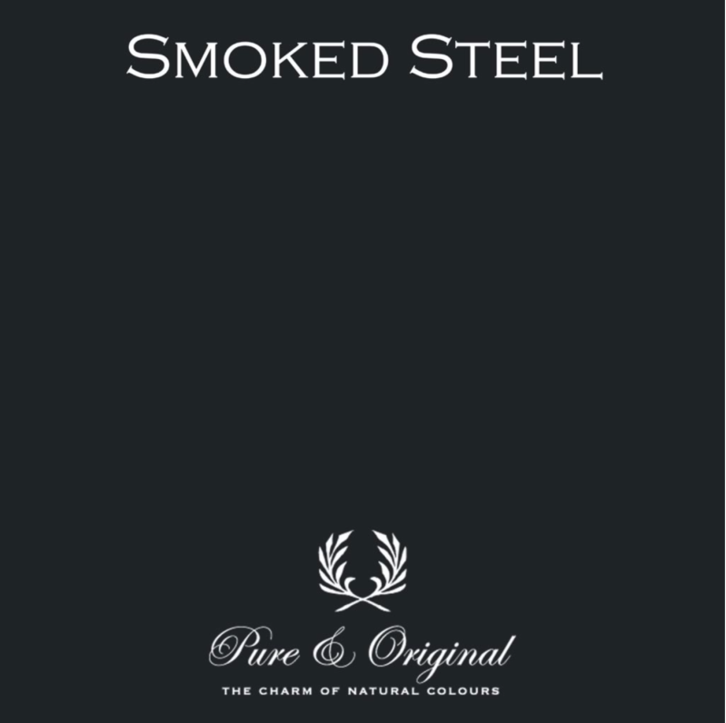Smoked Steel - Afwasbare verf - Licetto