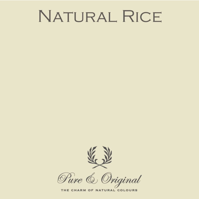 Natural Rice - Afwasbare verf - Licetto
