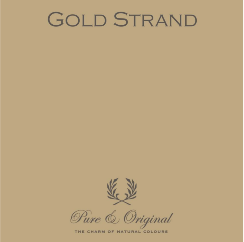 Gold Strand - Afwasbare verf - Licetto