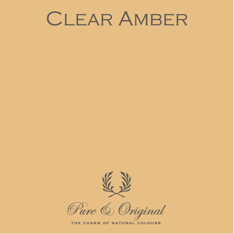 Clear Amber - Afwasbare verf - Licetto