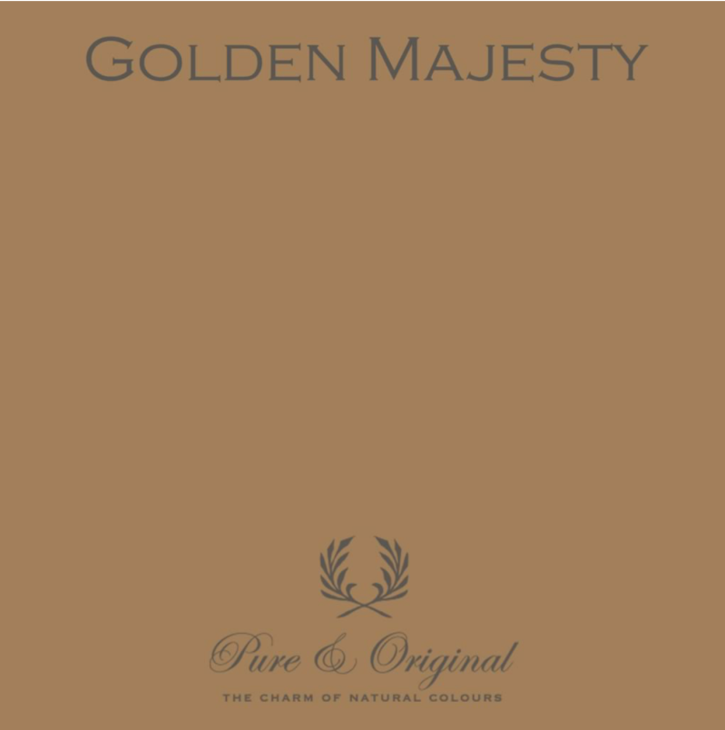 Golden Majesty - Kalkverf - Fresco