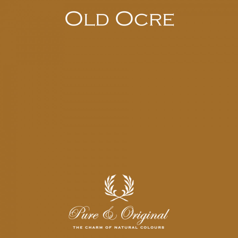 Old Ocre - Afwasbare verf - Licetto