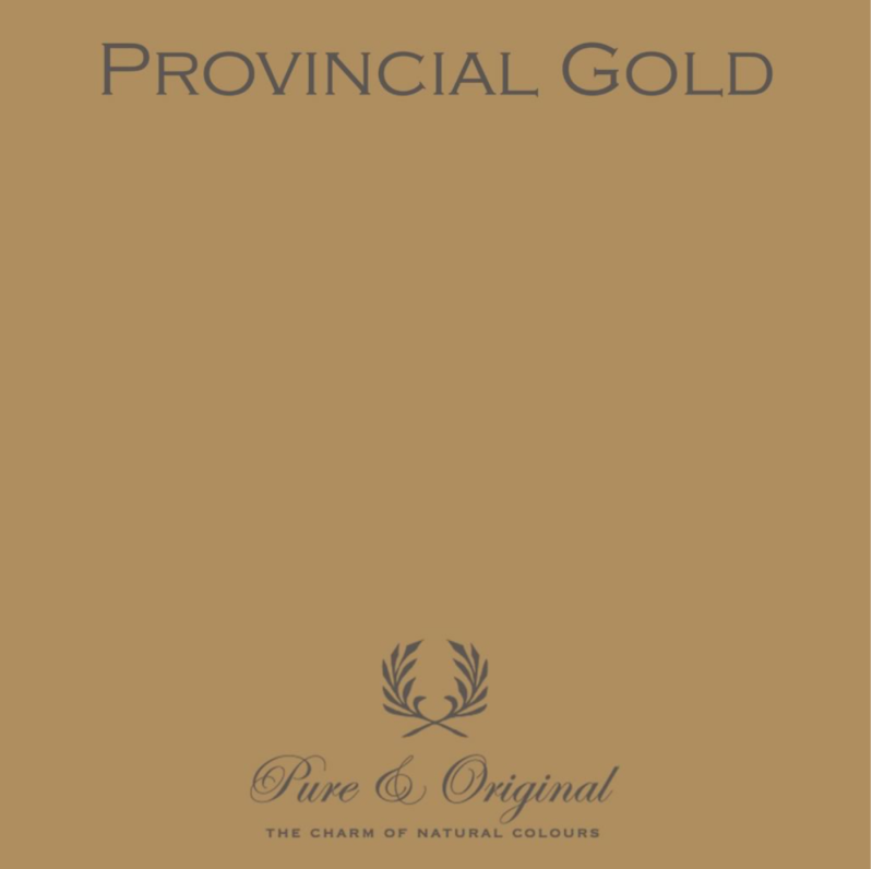 Provincial Gold - Afwasbare verf - Licetto