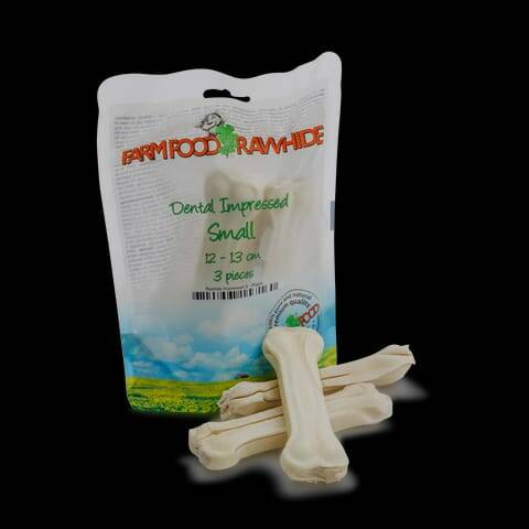 Farm Food Rawhide Dental Impressed
