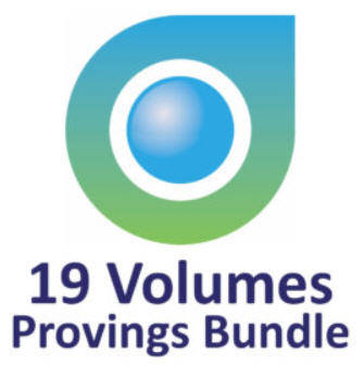 "19 Provings Bundle including P. Tumminello ""Twelve Jewels"" ((English)"