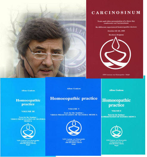 "Geukens: Bundle of 7 volumes of Alfons Geukens teachings ""Homeopathic Practice"" (English)"