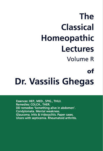 Ghegas V.: Book volume R