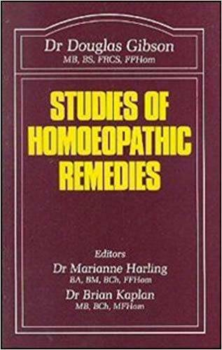 Gibson D.: Studies of Homeopathic Remedies (English)