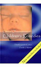 Master: Clinical Observation of Children Remedies (English)