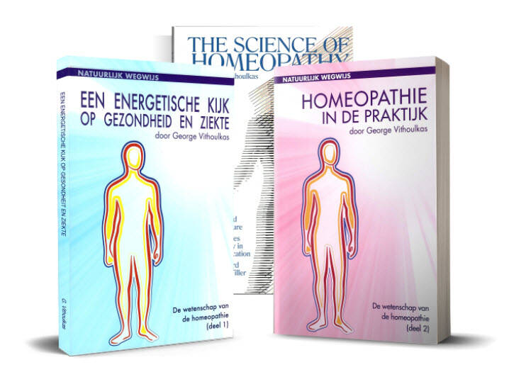 "Vithoulkas G.: De Nederlandse ""Science of Homepathy"" in twee delen ""Homeopathie in de praktijk"""