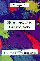 Yasgur J.,: Homeopathic Dictionary (English)