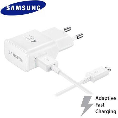 1 x Thuislader Samsung + 1 meter Micro USB kabel